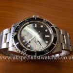 UK Specialist Watches have a beautiful Rolex Vintage Submariner 5513 with the rare Spider Dial