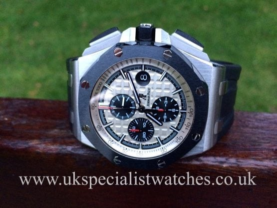 UK Specialist Watches have a new model Audemars Piguet Royal Oak Offshore with a Ceramic Bezel - 26400SO OO A002CA 01