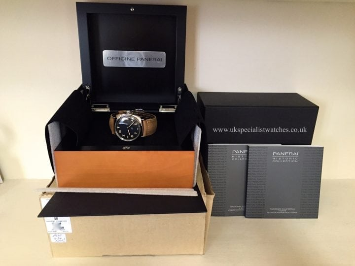 UK Specialist Watches have an unworn Panerai Radiomir California Steel Pam 424