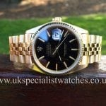 UK Specialist Watches have a Wonderful Vintage Rolex Date-just 18ct Gold 16018