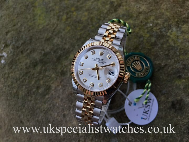 UK Specialist Watches have a new model Rolex Lady Datejust with a factory diamond dial - 279173