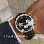 UK Specialist Watches have a vintage Breitling Navitimer 806 - AOPA Dial Gold Plated from 1965