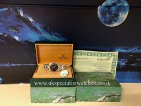 UK Specialist Watches have a Rolex Air-king Precision 14000M - Stainless Steel – Black Dial