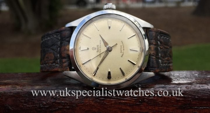 Vintage Tudor Oyster Prince from 1961 with sunburst Small Rose dial - 7956
