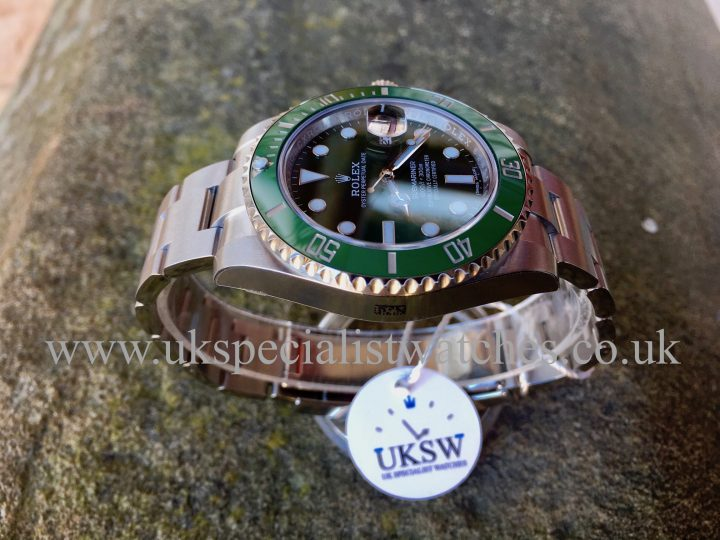 UK Specialist Watches have an unworn Rolex Submariner Hulk 116610LV - UNWORN UNUSED