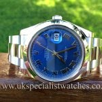 Rolex Gents Datejust 2 Steel 41mm 'Blue Dial' 116300