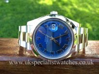 Rolex Gents Datejust 2 Steel 41mm 'Blue Dial' 116300