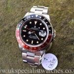 UK Specialist Watches have a Fat Lady 16760 Coke - Sophia Loren Rolex GMT Master II