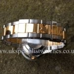 UK Specialist Watches have a Rolex Submariner Date Steel & Gold Blue Dial –16613