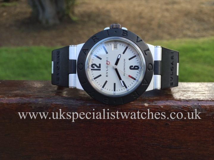 In stock at UK Specialist Watches- Bvlgari Aluminium Automatic -AL38TA