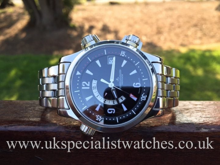 Uk specialist watches have a Jaeger-LeCoultre Master Compressor Memovox with alarm function 146.8.97