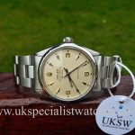 UK Specialist Watches have a Rolex Air king 5500 Vintage 1968 - Rare 3,6,9 Arrow Head Dial