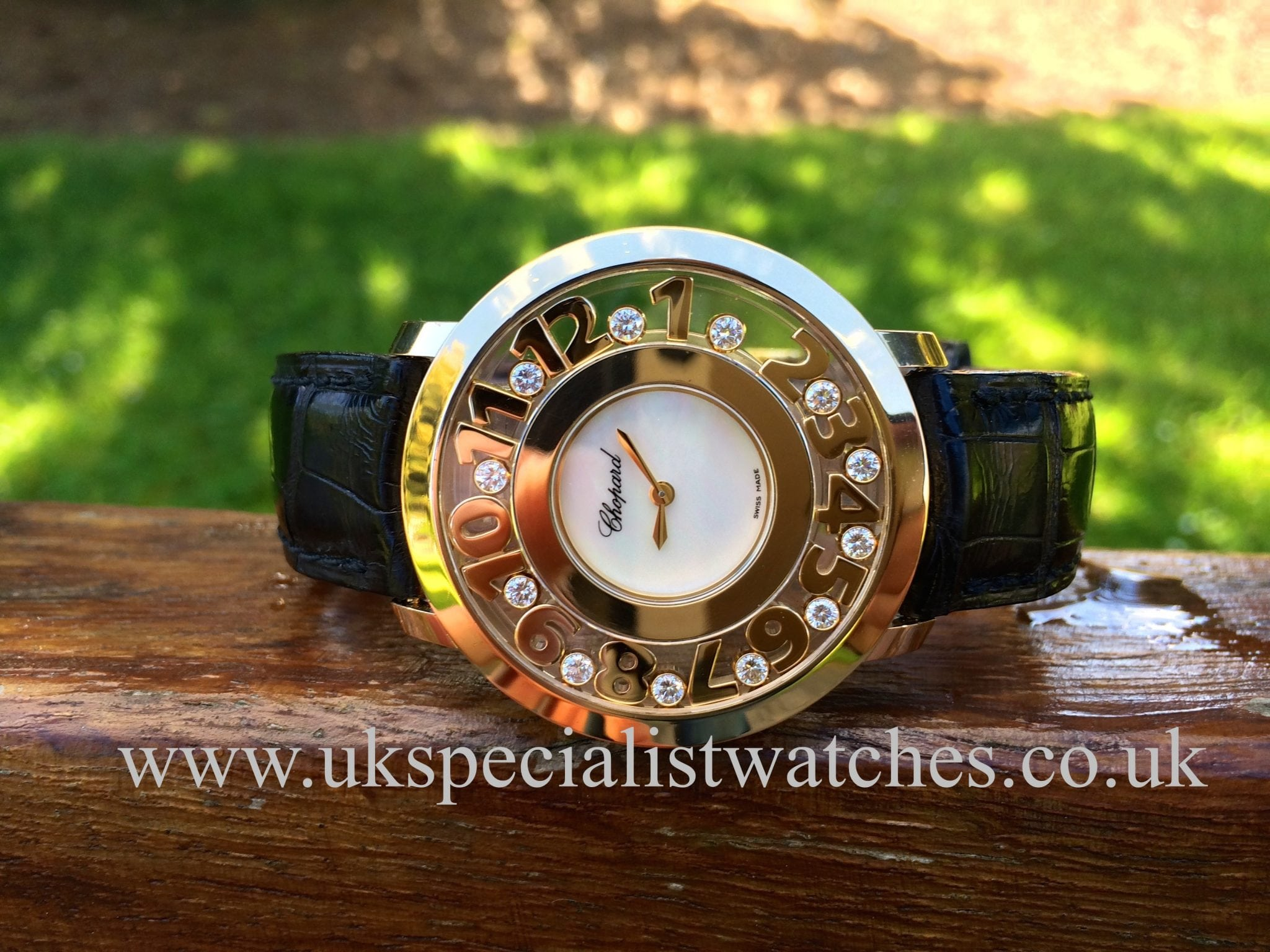 Chopard Happy Numbers 18ct Gold Diamonds -20 7233