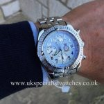 UK Specialist Watches have a rare limited edition Breitling Chronomat A13356 Red Arrows 40th anniversary.