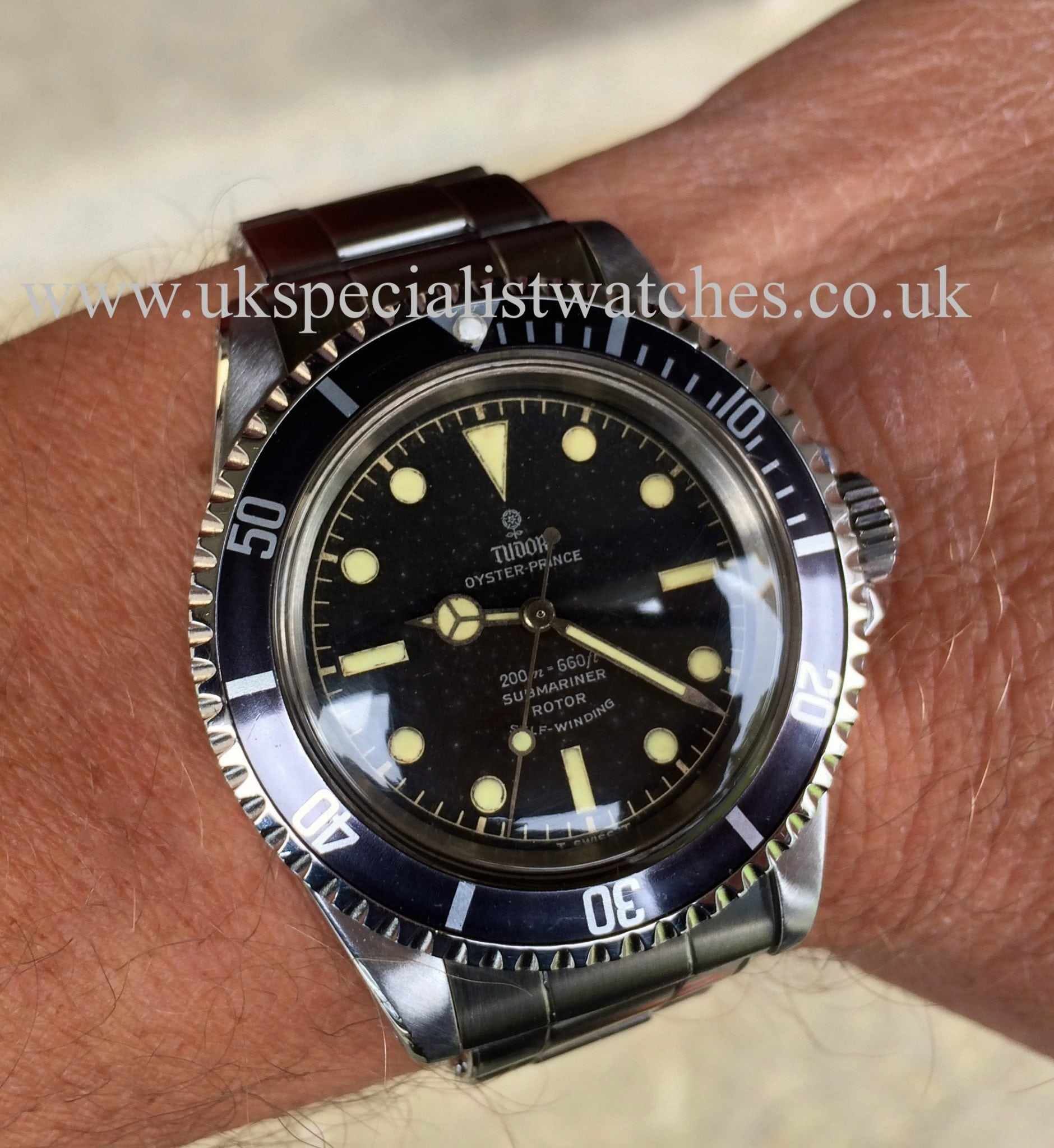 Ladies Rolex Watches Uk >> Tudor Vintage Submariner7928 Oyster Prince 1965 – UK Specialist Watches