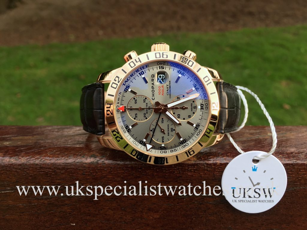 Chopard Mille Miglia GMT Chrono – 18ct Rose Gold – 1267