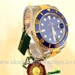 Rolex Submariner 116613LB Steel & Gold