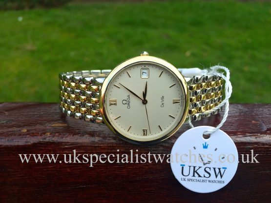 UK Specialist Watches have a Omega De Ville Gents 32mm Bi-Metal