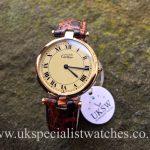 UK Specialist Watches have a Cartier Must De Vermeil Ladies 30mm