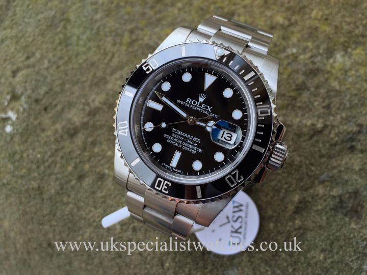 New model Rolex Submariner Ceramic - 116610LN - Stainless Steel