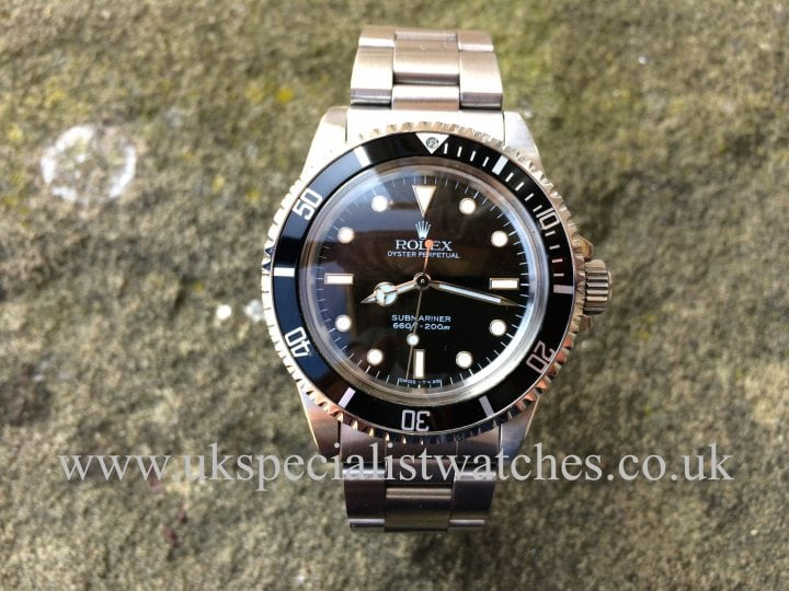 Rolex Vintage Submariner 5513 Topper Domed plexi glass