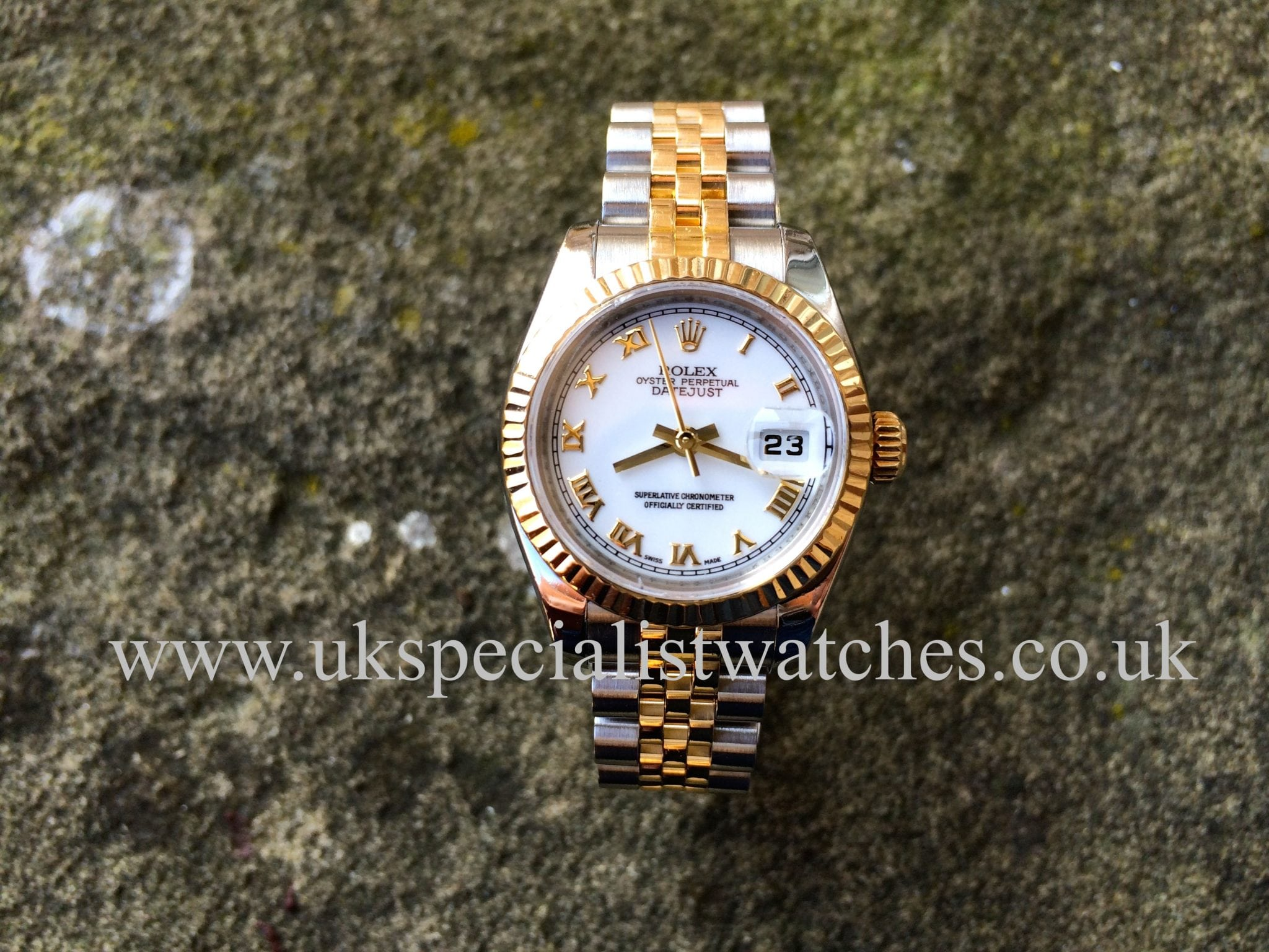 two pre s tone stick today shipping jewelry watch owned free datejust overstock rolex dial watches mens product blue men perpetual