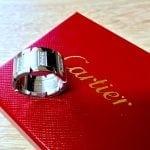 UK Specialist Watches have a magnificent Cartier Diamond Ring - Tank Française - Cartier Diamond set