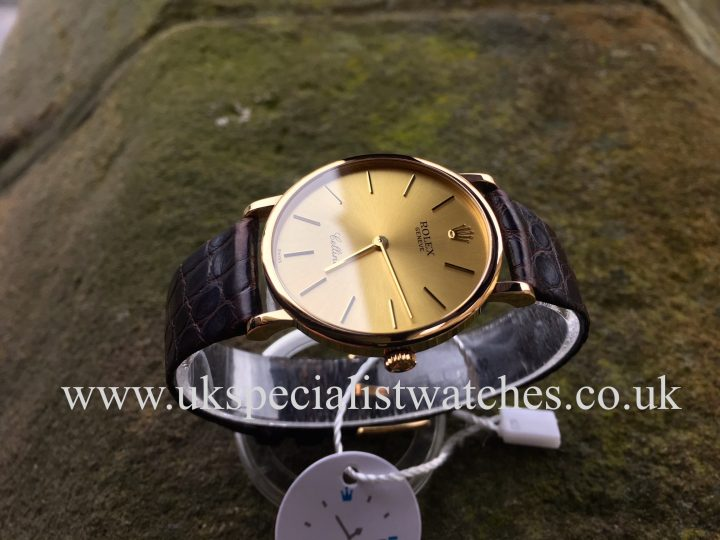 Rolex Cellini – Gents – 18ct Yelllow Gold – 5112/8Rolex Cellini – Gents – 18ct Yelllow Gold – 5112/8