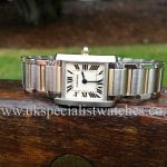 Cartier Tank Francaise Steel & Gold Ladies W51007Q4