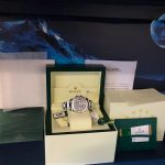 UK Specialist Watches have a Rolex Yacht-Master Blue Dial Platinum Bezel – 116622