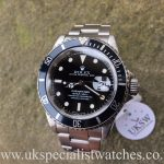 UK Specialist Watches have a Rolex Submariner Steel Date 16610 – Swiss T 25 Dial - Full Set