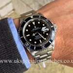 UK Specialist Watches have a 1994 Rolex Submariner with a Swiss T 25 dial, full set