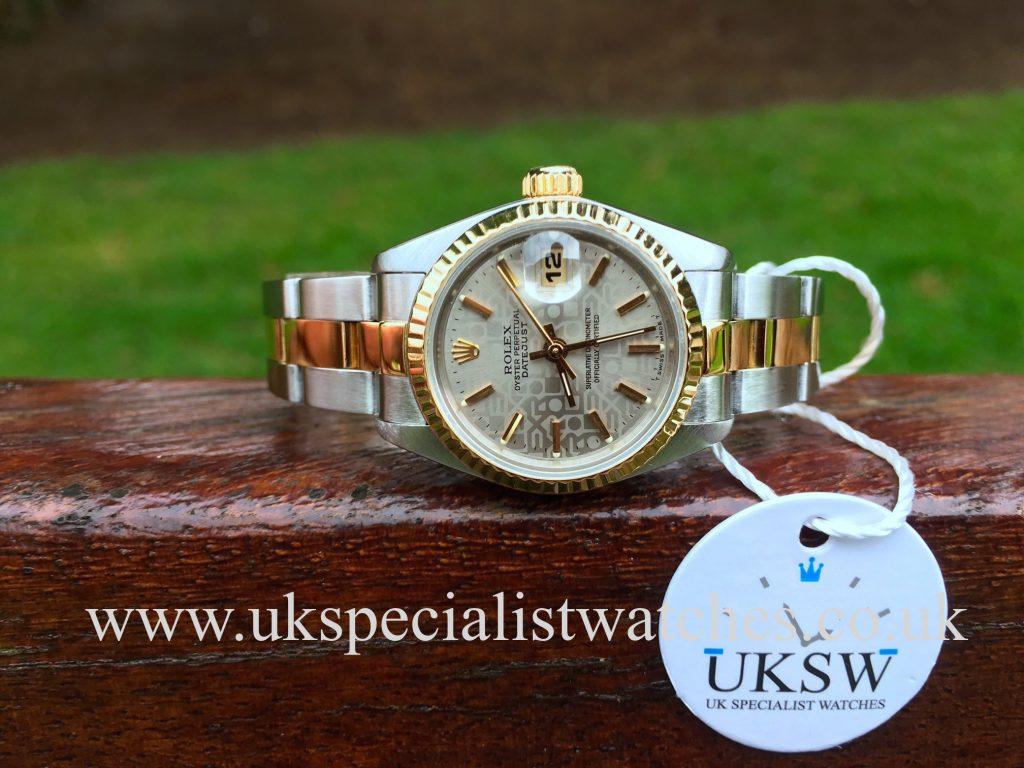 Rolex Lady Datejust – Steel & 18ct Gold – Jubilee Dial – 69173