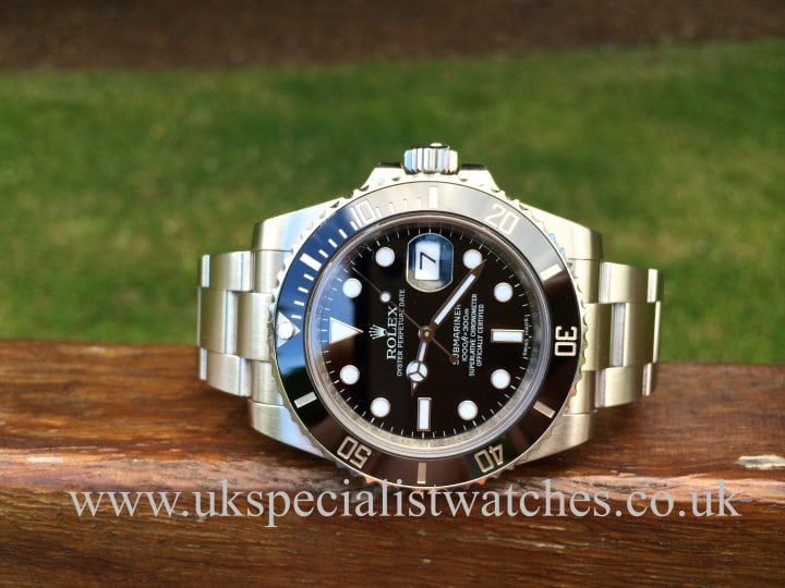 Rolex Submariner Date Ceramic Bezel 116610LN