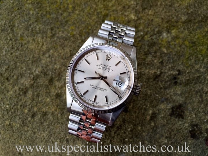 UK Specialist watches have a rather nice Rolex Datejust Gents with a Jubilee Bracelet - 16220