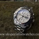 UK Specialist Watches have a TAG Heuer Aquaracer Chronograph - CAF2011 - Full Set