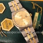UK Specialist Watches have the most immaculate vintage Rolex Oyster Quartz Bi Metal - 17013