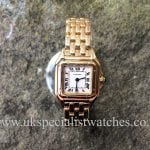 For sale at UK Specialist Watches Cartier Panthere Ladies 18ct Solid Gold - W25022B9