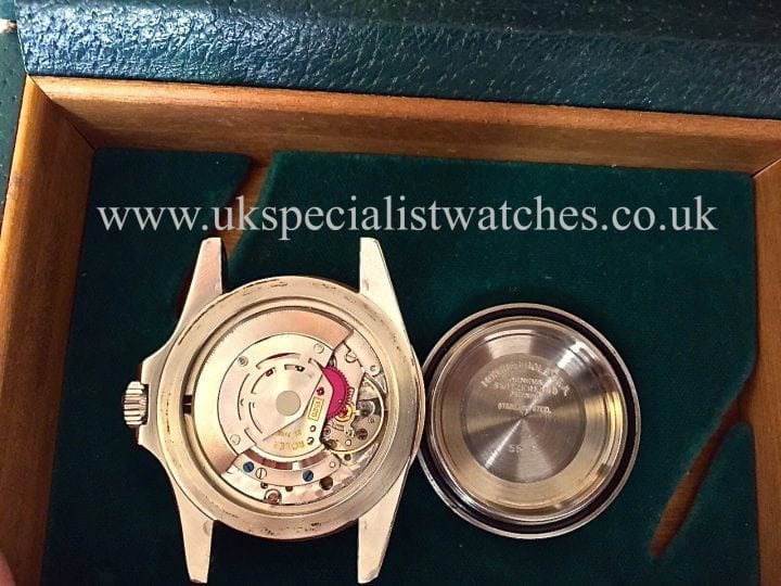 UK Specialist Watches have a extremely rare Rolex Vintage Submariner 5513 -with a rare Pre Comex Dial from December 1977
