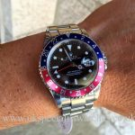 UK Specialist Watches have a Full Set Rolex 16710 GMT Master Pepsi Bezel