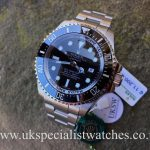 UK Specialist Watches have a brand new Rolex Deepsea Sea-Dweller 116660 Black