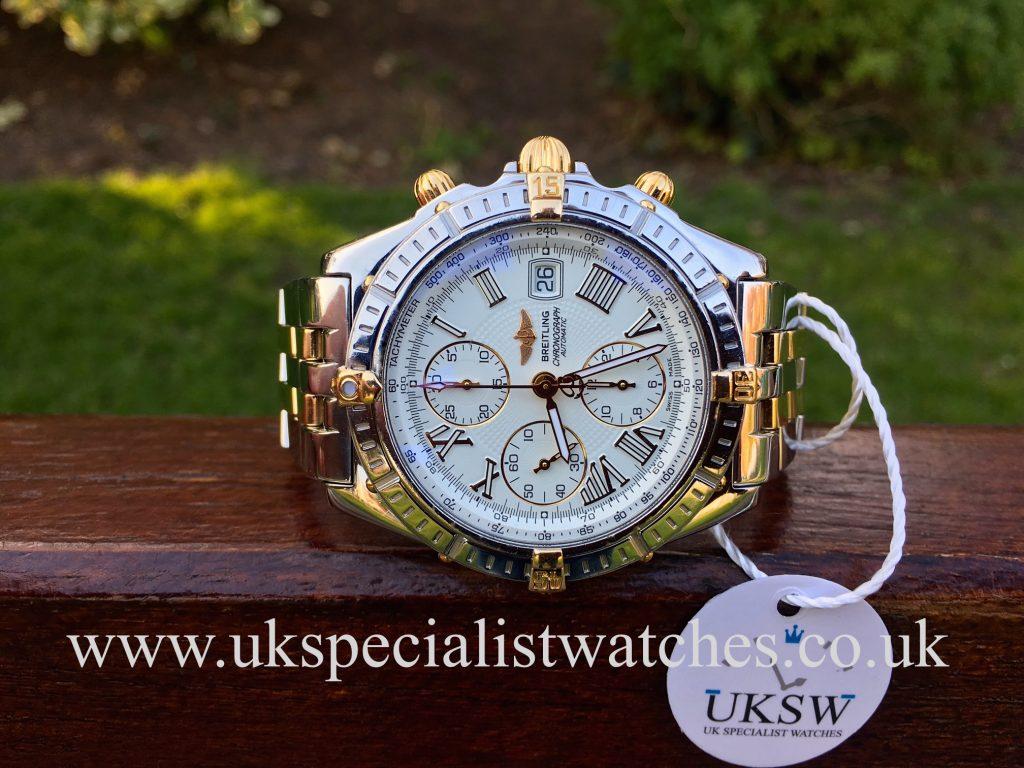 Breitling Crosswind – Chronomat – Steel & 18ct Gold – B13355