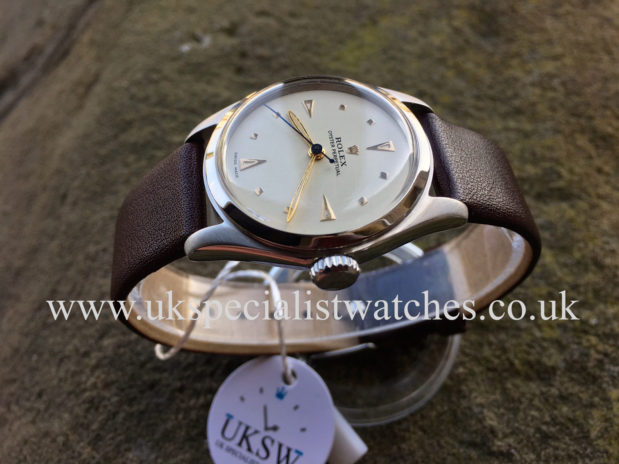 Rolex Oyster Perpetual 6144 , Super + Oyster Crown , Vintage 1952
