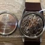 UK Specialist Watches have a rare Vintage Rolex Oyster Perpetual 6144 with a super + Oyster Crown 1952