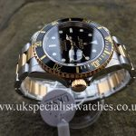UK Specialist Watches have a final edition Rolex Submariner in steel & 18ct yellow gold with a black dial - 16613
