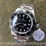 UK Specialist Watches have a Rolex Submariner Non-Date - Steel - 14060M - Full Set