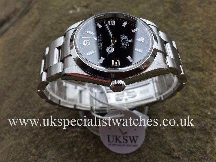 UK Specialist Watches have a Rolex Explorer 114270 – Stainless Steel – Full Set