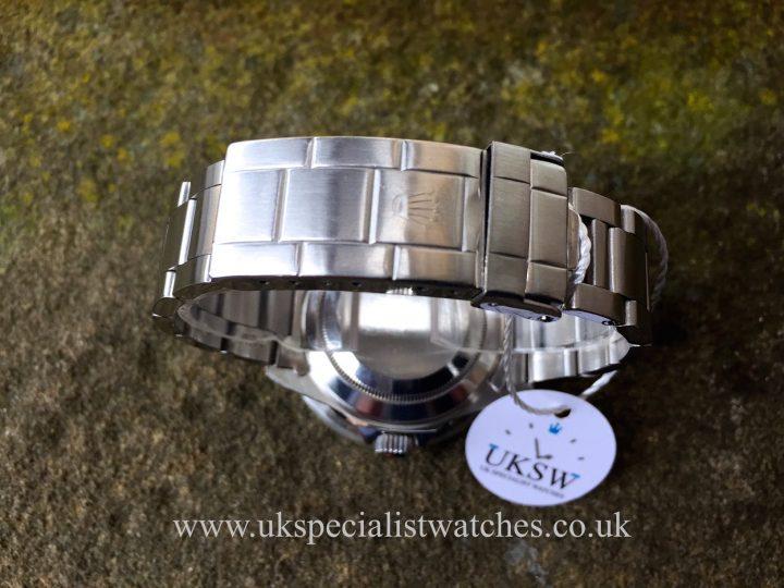 UK Specialist Watches have a green bezel Rolex Submariner date 16610