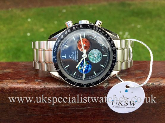UK Specialist Watches have a Limited edition Omega Speedmaster Moon To Mars 35775000