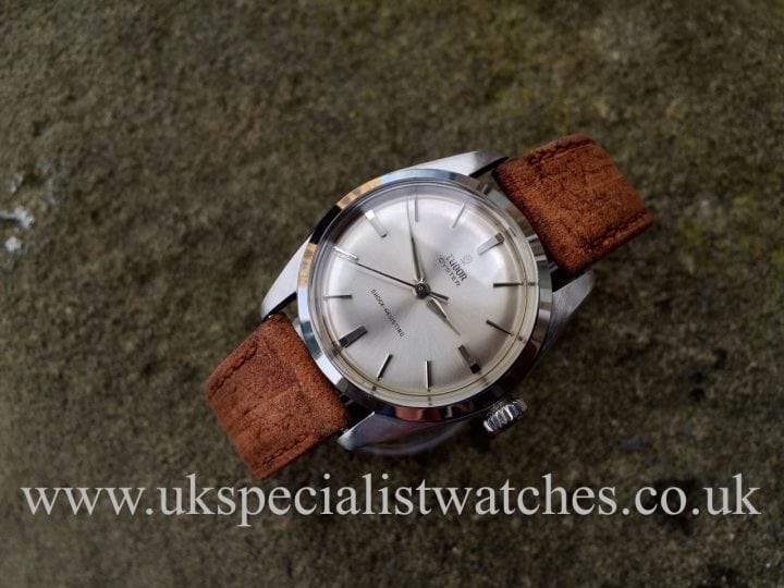 UK Specialist Watches have a beautiful Vintage Tudor Oyster Shock Resisting from 1965 with the Small Rose – 7934